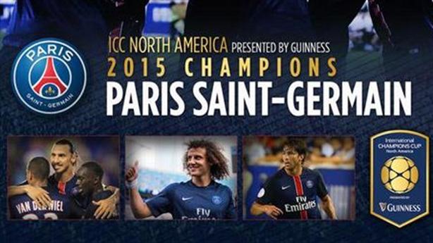Man Utd 0-2 PSG: Thành Paris vô địch ICC 2015