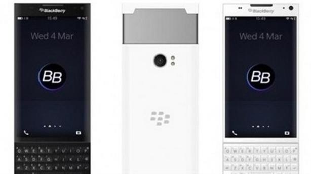 Lộ ảnh BlackBerry chạy Android màn hình cong