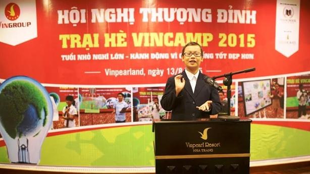 Trại hè VinCamp 2015 – truyền cảm hứng cùng thay đổi thế giới