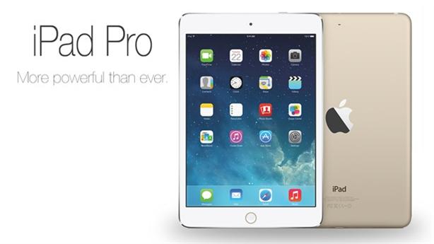 iPad Pro ra mắt, cạnh tranh cùng Surface Pro4 trong tháng 10