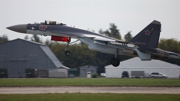 Nga chỉ hợp tác phát triển động cơ Su-35 với Trung Quốc