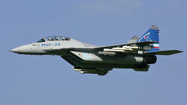 Tiêm kích MiG-35 được trang bị vũ khí