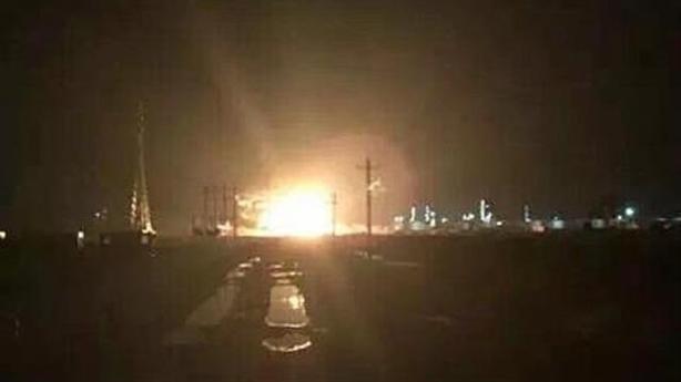 Liên tiếp nổ các nhà máy hóa chất tại Trung Quốc
