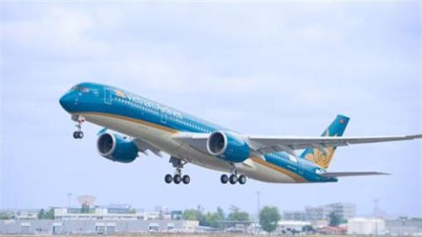 Vietnam Airlines lọt top 10 tiến bộ nhất thế giới