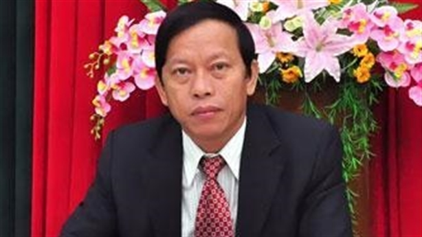 Ông Lê Phước Thanh được thôi chức Bí thư Tỉnh ủy