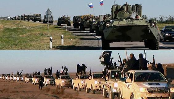 Thực hư chuyện Nga đem quân sang giúp Syria đánh IS