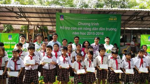 PVFCCo - Chung tay xây dựng nông thôn mới
