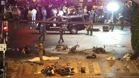 Cảnh sát Thái Lan cáo buộc người Duy Ngô Nhĩ đánh bom