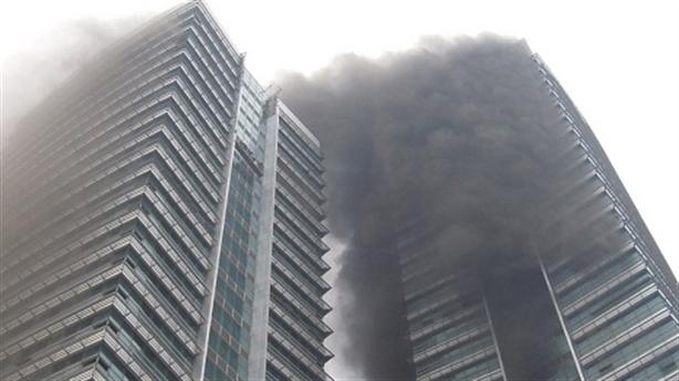Cháy chung cư tại Hà Nội: