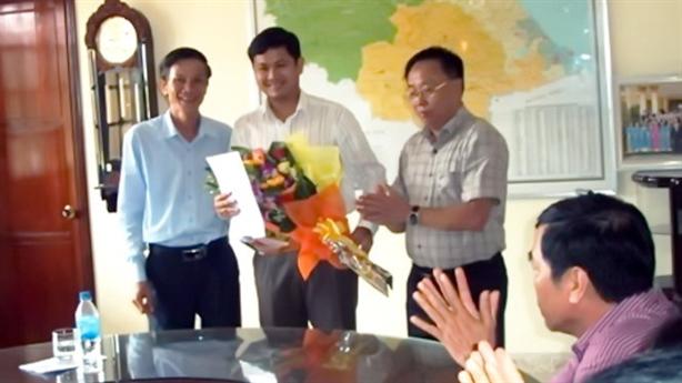 Ông Lê Phước Hoài Bảo làm giám đốc sở: Đạt tiêu chuẩn