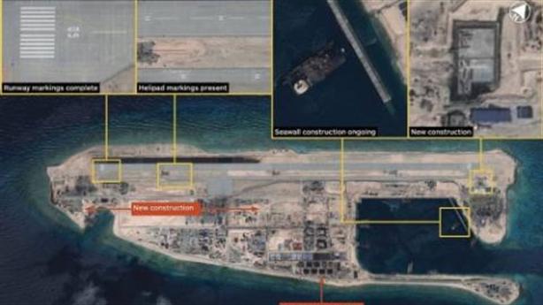 Báo Mỹ: Trung Quốc xây xong đường băng đá Chữ Thập