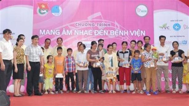 EVN HANOI mang Tết Trung thu đến với trẻ em
