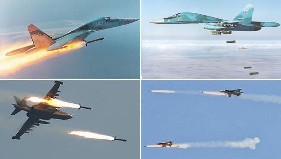 Nga dùng không kích, ép Mỹ đàm phán Syria trong thế yếu