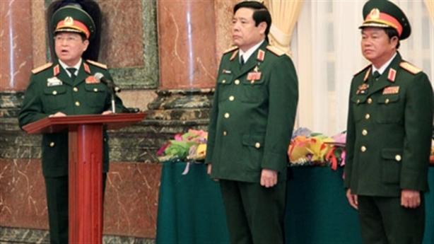 Hai tướng quân đội được thăng quân hàm Đại tướng