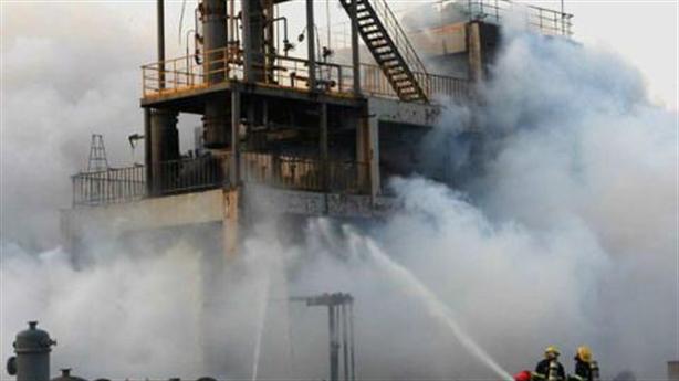 Video: Nhà máy hóa chất phát nổ rúng động Trung Quốc