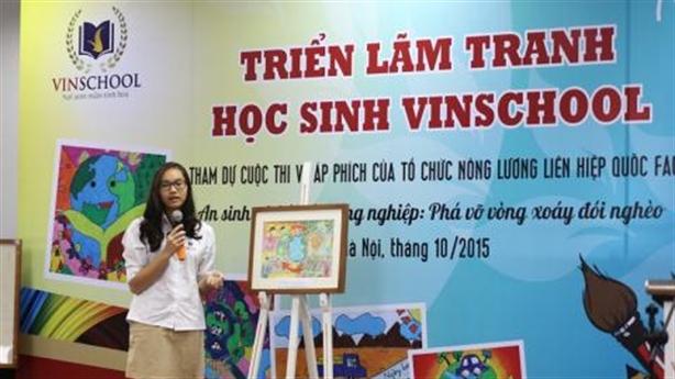 Trẻ em Việt Nam 'hiến kế' chống đói nghèo