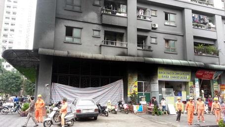 Cháy liên tiếp mới hỏa tốc thanh tra chung cư Mường Thanh