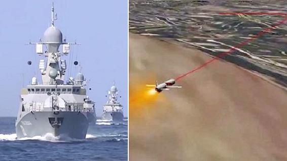 18 mũi 'giáo thần' Hạm đội Biển Đen sẵn sàng tấn công