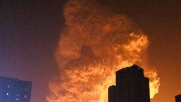 Trung Quốc lại nổ hóa chất, 9 người mất tích