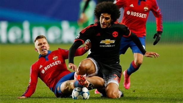 Điểm nhấn CSKA Moskva 1-1 Man United: Martial phải đá trung phong