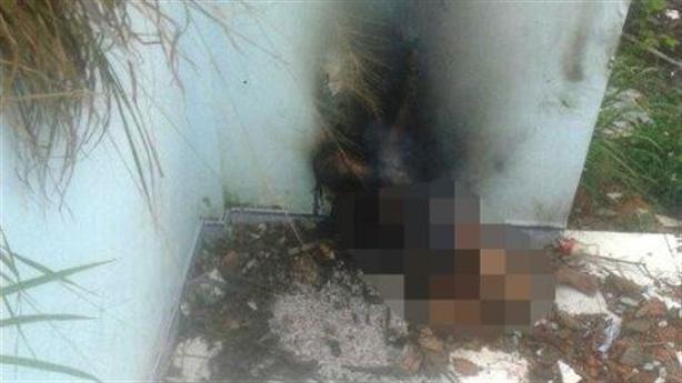 Thiếu nữ khỏa thân chết cháy: Công an đang truy tìm