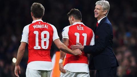 Bóng dáng nhà vô địch ở Arsenal
