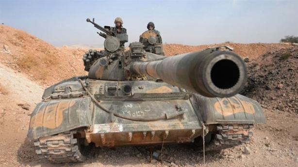 Dàn vũ khí Quân đội Syria đánh trận quyết định Aleppo
