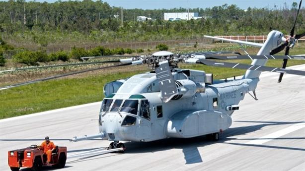 Hoàng đế trực thăng vận tải Mỹ CH-53K cất cánh thành công