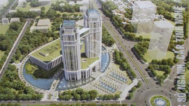 Hội chứng xây trụ sở to: Nghệ An muốn chi 2.200 tỷ