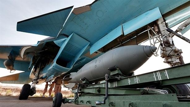 Sức mạnh hủy diệt của bom 1,5 tấn Nga dùng tại Syria