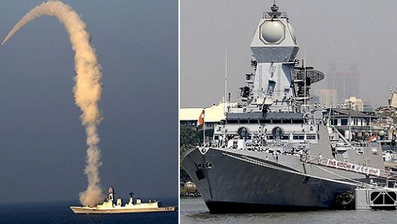 Khu trục hạm Kolkata Ấn Độ gian nan hoàn thiện sức mạnh
