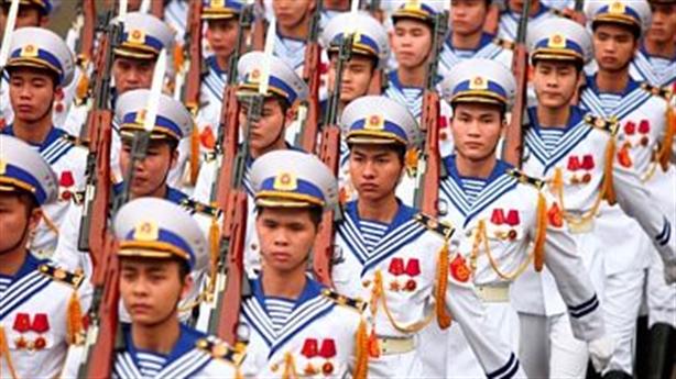 Hải quân Việt Nam - Campuchia phối hợp tuần tra chung trên biển