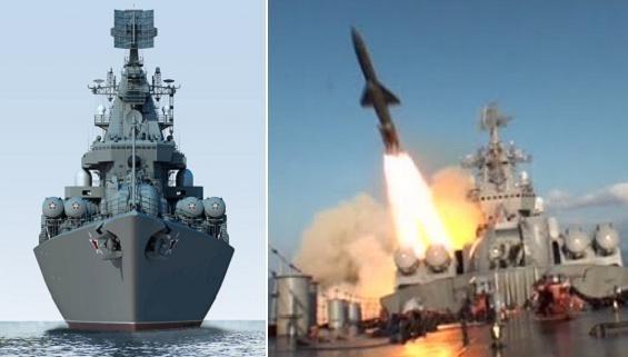 Tuần dương hạm Moskva nhận nhiệm vụ hỗ trợ Pháp