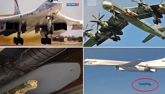 Kì lạ Nga dùng siêu tên lửa Kh-555 và Kh-101 ở Syria