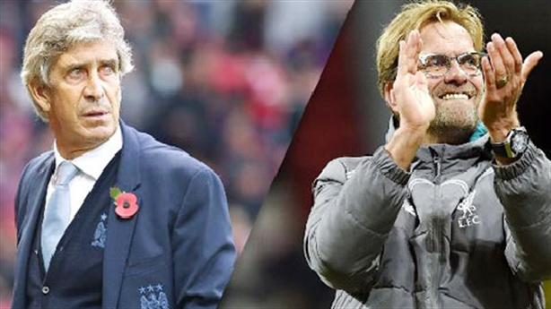 Đối lập Man City - Liverpool trên ghế chỉ đạo