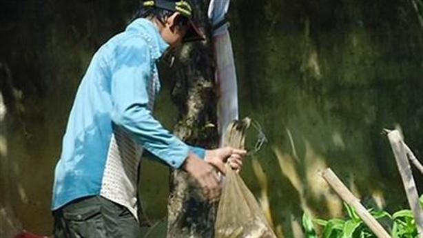 Đồng Nai: Bắt cá ở hồ nhiễm dioxin đem bán