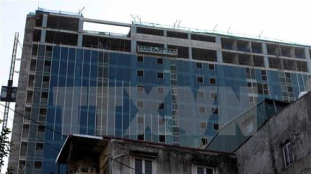 Sở Xây dựng thúc tiến độ phá dỡ tòa 8B Lê Trực