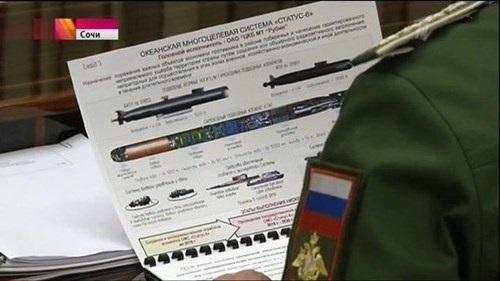 Nga thừa nhận sức mạnh của ngư lôi Status-6