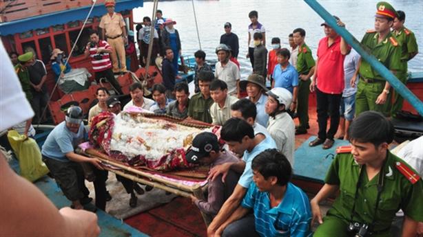 Ngư dân bị bắn ở Trường Sa: Bước đầu pháp y