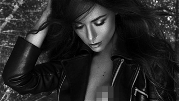 Hoa hậu Úc lộ ảnh bán khỏa thân