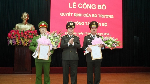 Cao Bằng có Giám đốc Công an mới