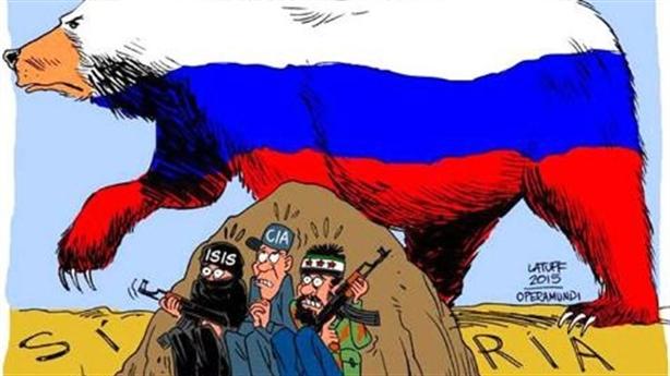 Chiến lược Mỹ đánh Nga từ Ukraine tới Syria