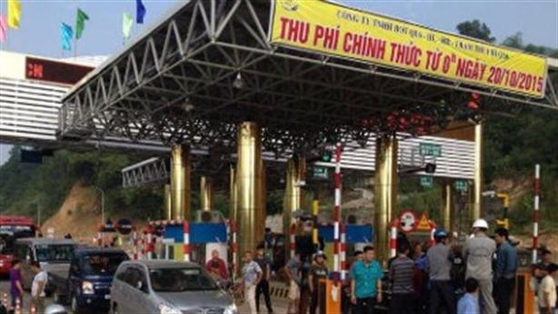 Dân vây trạm thu phí Lương Sơn: Nhập nhèm biển chỉ mốc