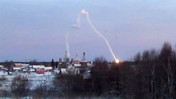 Ảnh tên lửa không thể đánh chặn Nga đâm trúng nhà dân