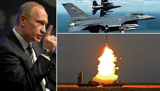 Putin: Máy bay Thổ Nhĩ Kỳ vào Syria, S-400 sẽ bắn hạ