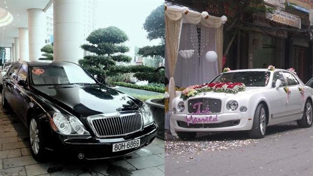 Đại gia Hải Phòng - Quảng Ninh đọ siêu xe hỏi cưới