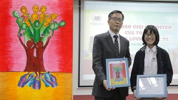 Học sinh Vinschool đạt giải cuộc thi vẽ của FAO