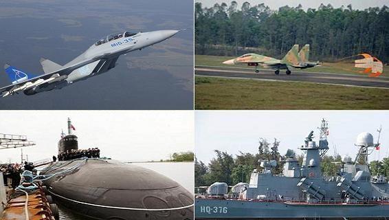 Việt Nam: Kilo, Gepard, Molnya, Su-30, MiG-35 đều lắp tên lửa Club?