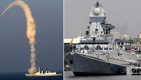 Ấn Độ trang bị tàu Kolkata khi chưa hoàn thiện sức mạnh