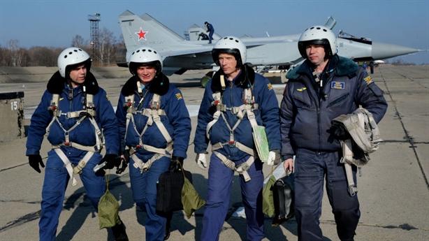 Nga điều tiêm kích MiG-31BM áp sát phía Trung Quốc